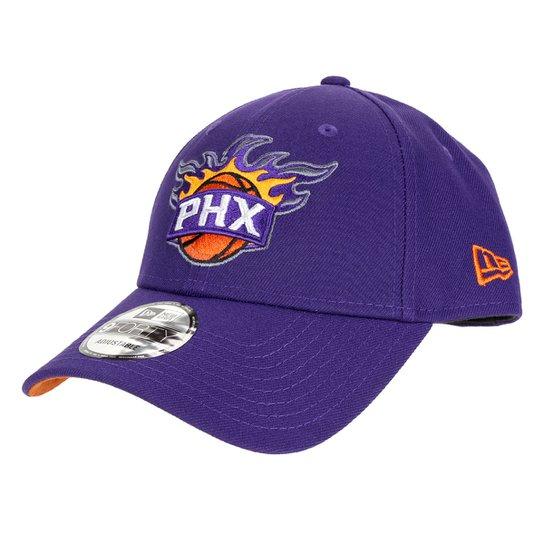 Boné NBA Phoenix Suns New Era Aba Curva Snapback 9Forthy - Roxo