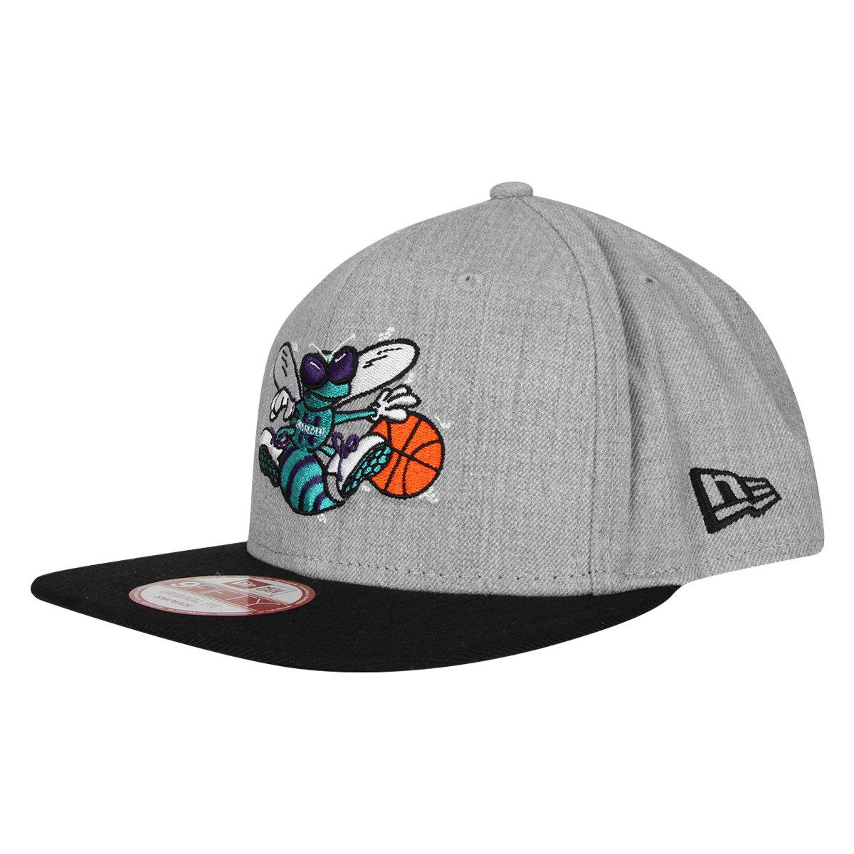 6fc2c3b8cac45 Boné New Era 950 Of Sn NBA Charlotte Hornets - Compre Agora