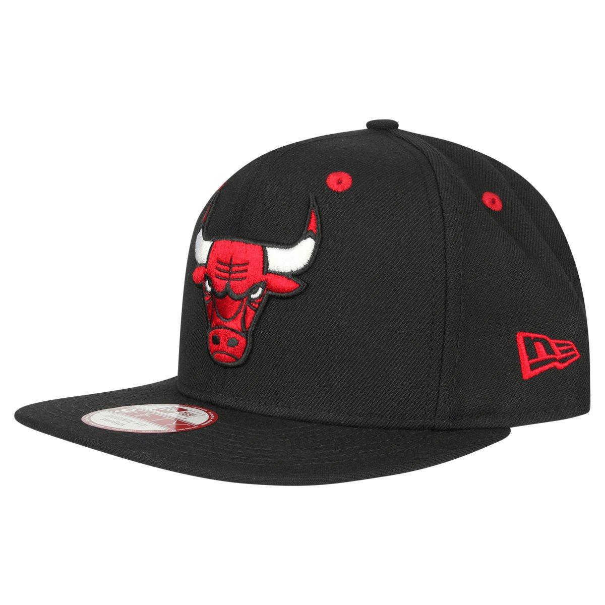 0491b53313b Boné New Era 950 Of Sn NBA Chicago Bulls - Compre Agora