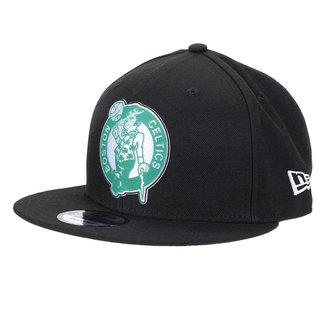 Boné New Era Boston Celtics Aba Reta Snapback 950