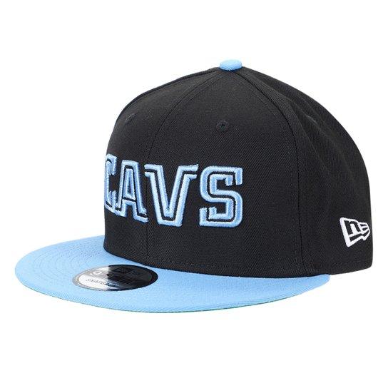 Boné New Era Cleveland Cavaliers Aba Reta Snapback 950 - Preto