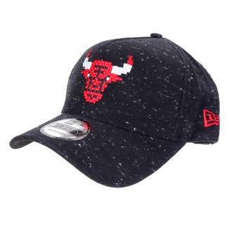 Boné New Era NBA Chicago Bulls Aba Curva Snapback A-Frame Rave Space Stars 9Forty