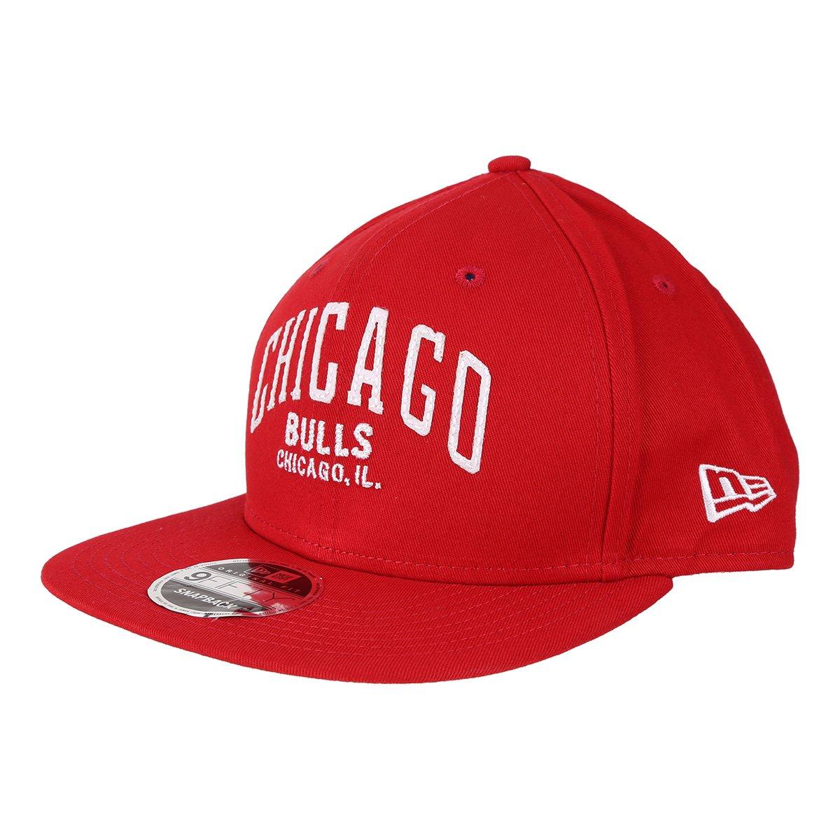 Boné New Era NBA Chicago Bulls Aba Reta 950 OF Af SN Lic2144 Fa17 Sc -  Vermelho - Compre Agora  5382f3d3301