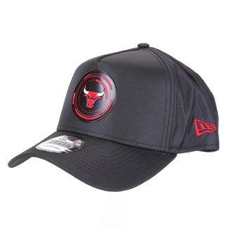 Boné New Era NBA Chigaco Bulls Aba Curva Snapback A-Frame Tech Power 9Forty