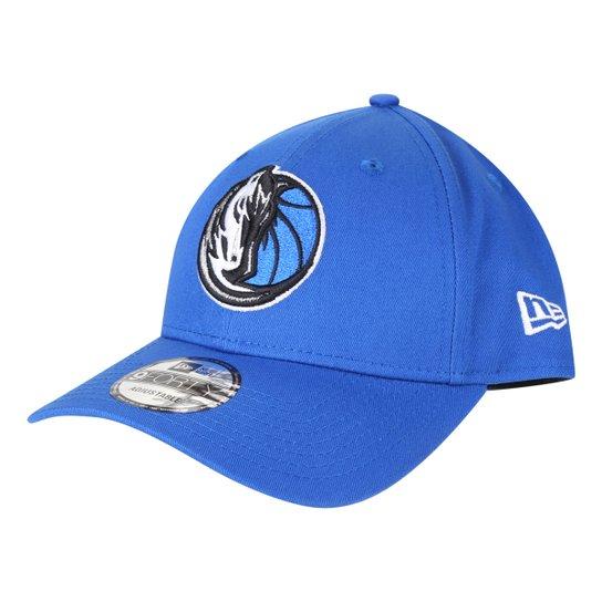 Boné New Era NBA Dallas Mavericks Aba Curva Snapback 9Forthy - Azul