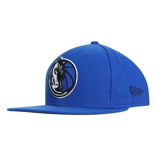 Boné New Era NBA Dallas Mavericks Aba Reta 950 Snapback Masculino - Azul