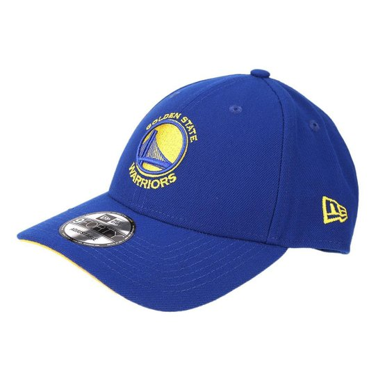 Boné New Era NBA Golden State Warriors Aba Curva Primary - Azul Royal