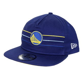 Boné New Era NBA Golden State Warriors Aba Reta Color Stripe Division