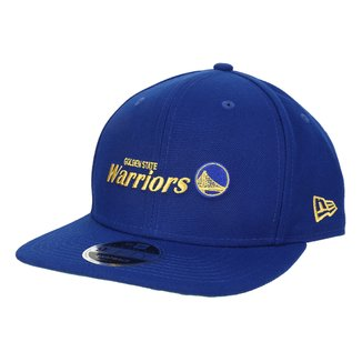 Boné New Era NBA Golden State Warriors Aba Reta Essentials
