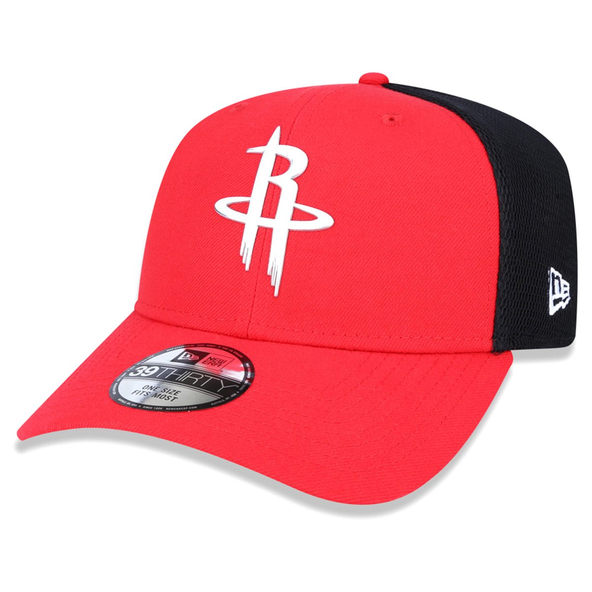 a42362ed6c Boné New Era NBA Houston Rockets Aba Curva 3930 - Compre Agora ...