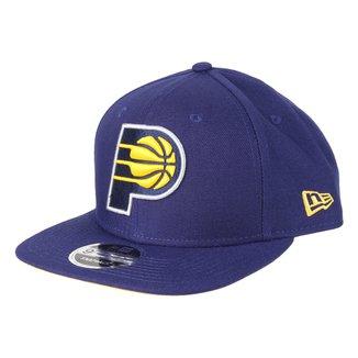 Boné New Era NBA  Indiana Pacers Aba Reta Snapback 9Fifty Of Sn Primary