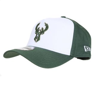Boné New Era NBA Milwaukee Bucks Aba Curva Snapback 940 Core Backsign