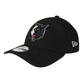 Boné New Era NBA Minnesota Timberwolves Aba Curva Primary