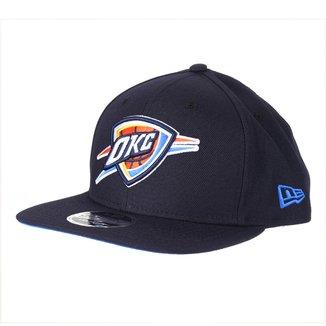 Boné New Era NBA Oklahoma Cityt Thunder Aba Reta Snapback 9Fifty Of Sn Primary