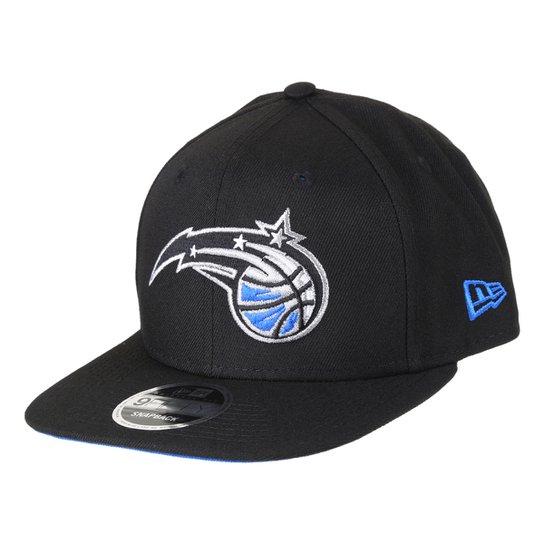 Boné New Era NBA Orlando Magic Aba Reta Snapback 9Fifty Of Sn Primary - Preto