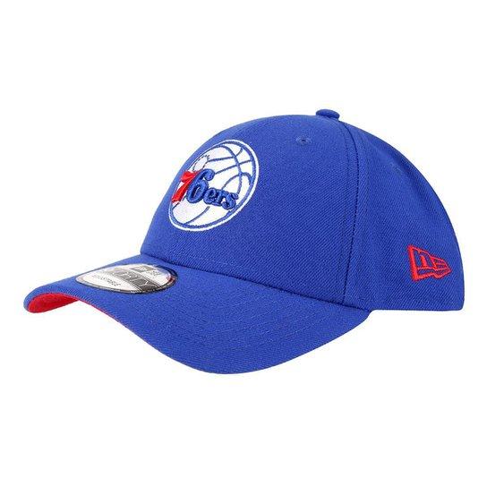 Boné New Era NBA Philadelphia 76Ers Aba Curva 940 SN Primary Otc - Azul