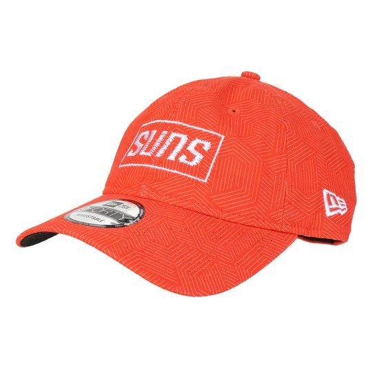 Boné New Era NBA Phoenix Suns Aba Curva - Laranja