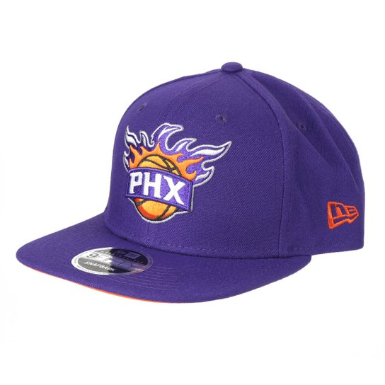Boné New Era NBA Phoenix Suns Aba Reta Snapback 9Fifty Of Sn Primary - Roxo