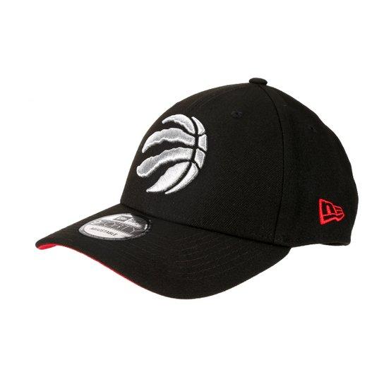 Boné New Era NBA Toronto Raptors Aba Curva Primary - Preto