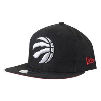 Boné New Era NBA Toronto Raptors Aba Reta Snapback Of Primary
