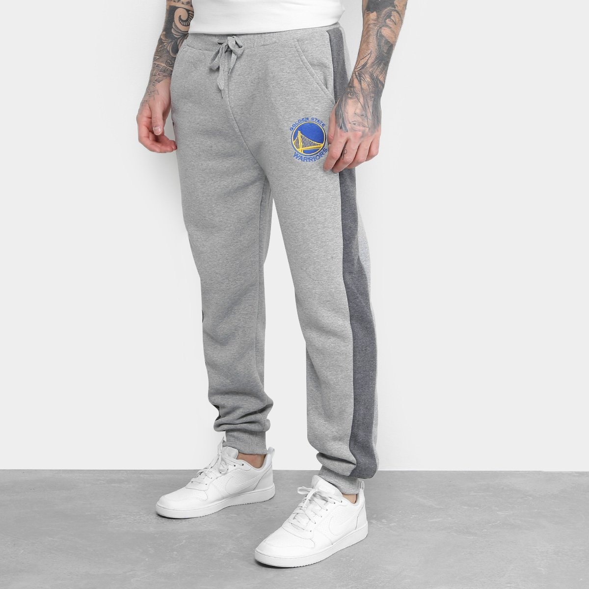 cafc85456ca68 Calça Moletom NBA Golden State Warriors Masculina | Loja NBA