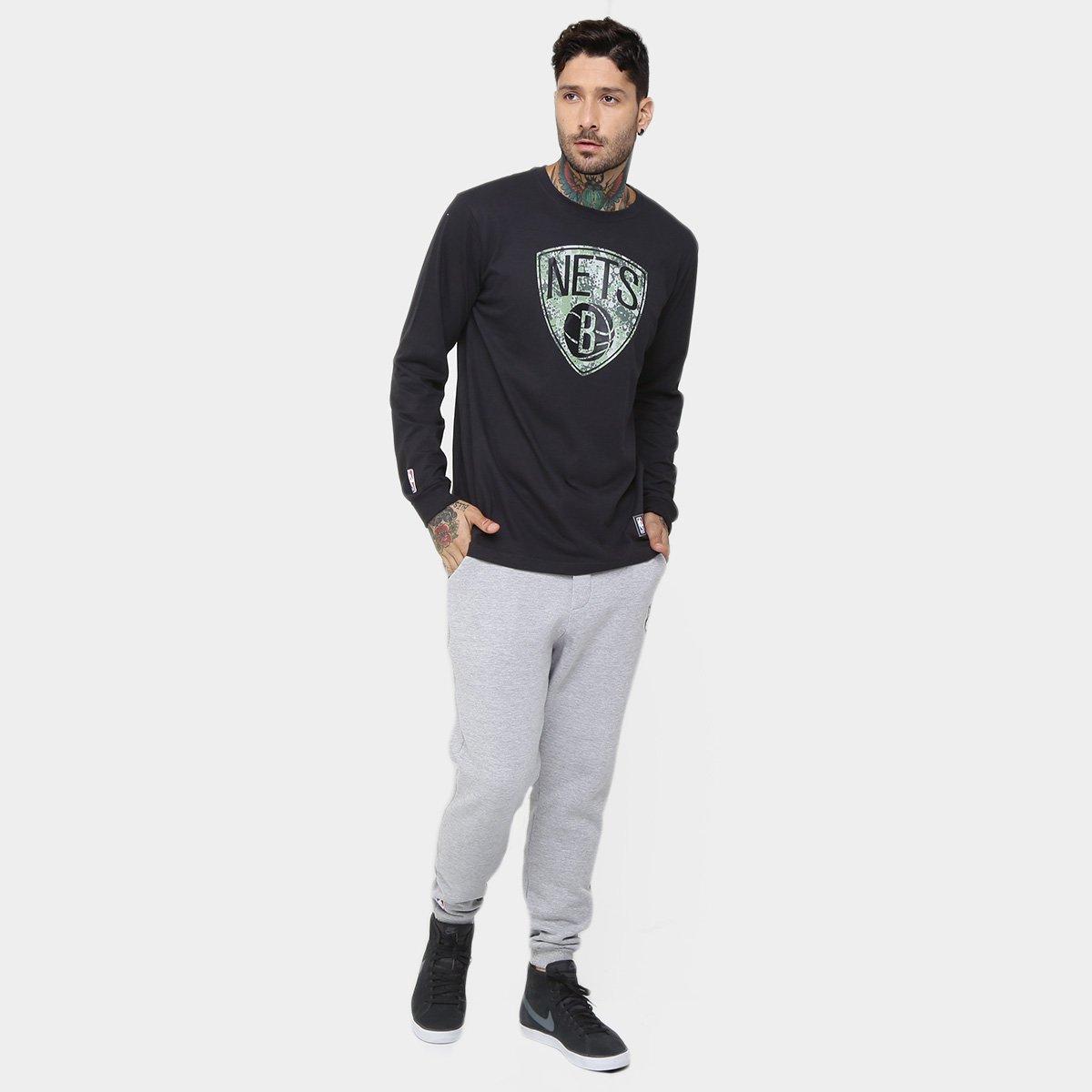 Calça New Era NBA Recorte Brooklyn Nets - Compre Agora  a368c11997cb6