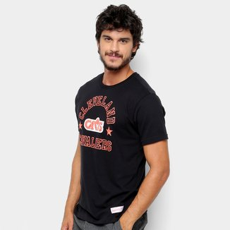 Camisa Mitchell & Ness Down To Cleveland Cavaliers Masculina