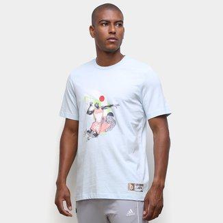 Camiseta Adidas Dame Gu Oly Masculina