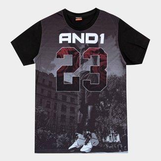 Camiseta And1 Street Masculina