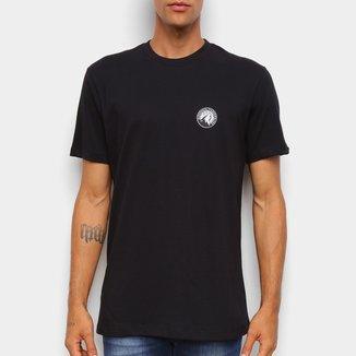 Camiseta Black Pack NBA Minnesota Timberwolves New Era Logo Mintim Masculina