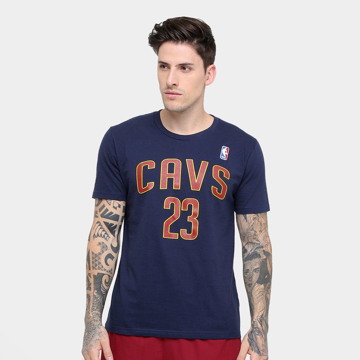 0e978bb81 Camiseta Cleveland Cavaliers NBA James 23 Masculina - Compre Agora ...