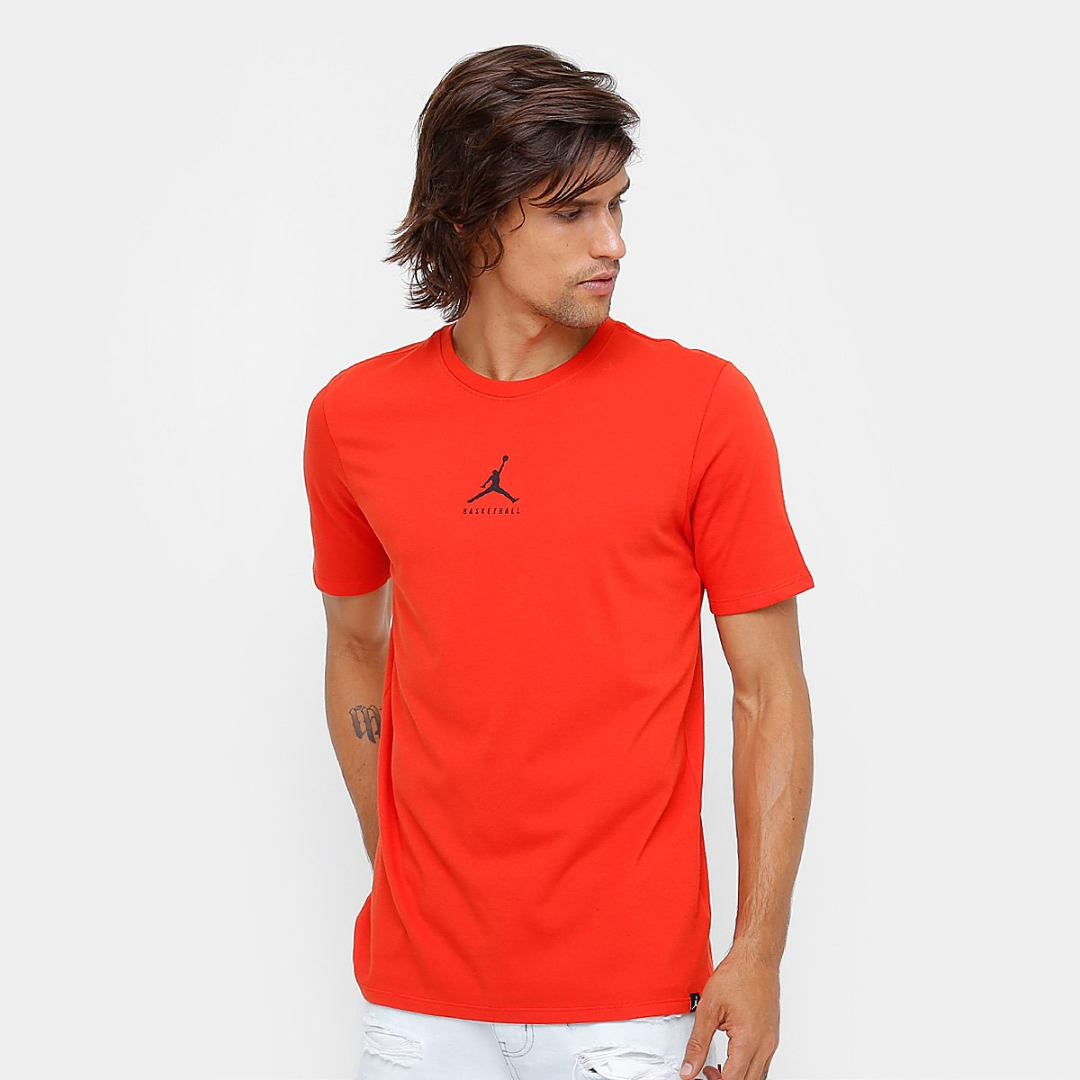 c8fd55ff9d14b Camiseta Jordan Nike NBA JBSK 23 7 Masculina - Compre Agora
