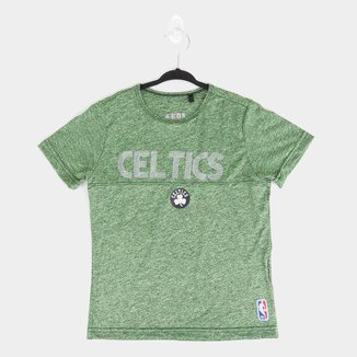 Camiseta Juvenil NBA Boston Celtics Shine Masculina