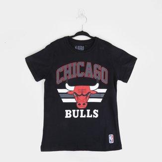 Camiseta Juvenil NBA Chicago Bulls Team Arch Masculina