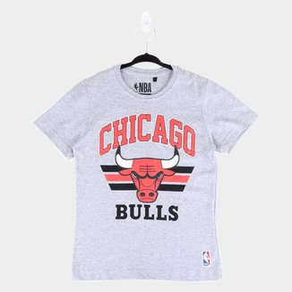 Camiseta Juvenil NBA Chicago Bulls Team Arch Masculina