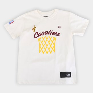 Camiseta Juvenil NBA Cleveland Cavaliers New Era Masculina