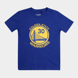 Camiseta Juvenil NBA Golden State Warriors Masculina