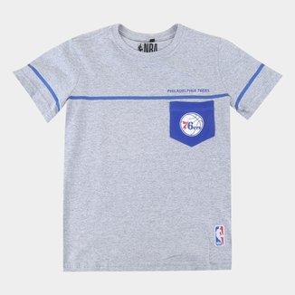 Camiseta Juvenil NBA Philadelphia 76ers Especial Masculina