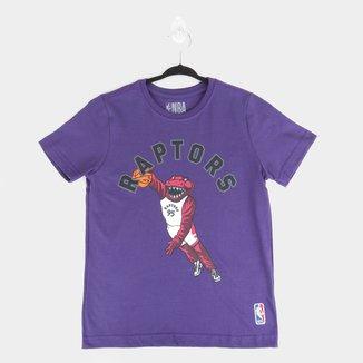 Camiseta Juvenil NBA Toronto Raptors Masculina