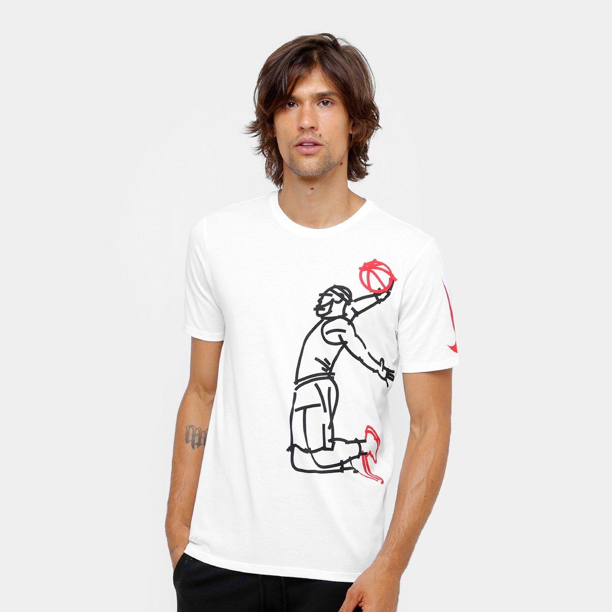 7ae1754eef Camiseta Lebron James Nike NBA Famous Masculina - Compre Agora ...