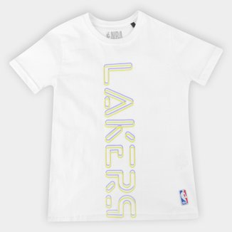 Camiseta Los Angeles Lakers Juvenil NBA Masculina