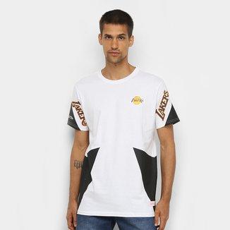 Camiseta Los Angeles Lakers Mitchell & Ness Sport Masculina