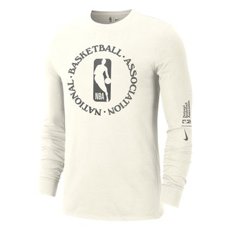 Camiseta Manga Longa NBA Nike Team 31 Courtside Masculina