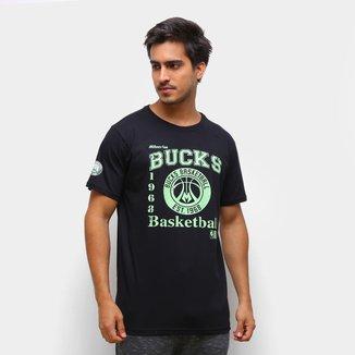 Camiseta Milwaukee Bucks NBA Masculina