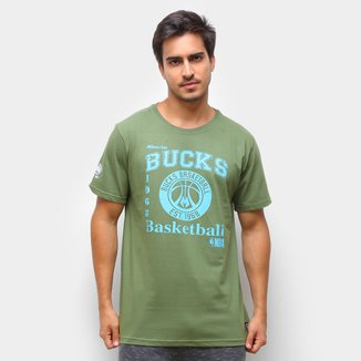 Camiseta Milwaukee Bucks NBA Masculina