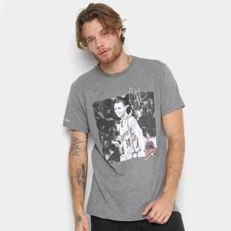 Camiseta Mitchell & Ness NBA Steph Curry Player Signature Masculina