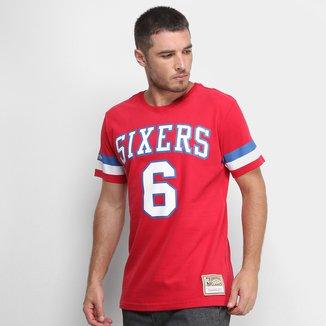 Camiseta Mitchell & Ness Philadelphia 76 Ers Masculina