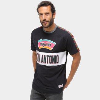 Camiseta Mitchell & Ness San Antonio Spurs Masculina