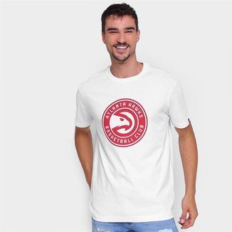 Camiseta NBA Atlanta Hawks New Era Logo Masculina