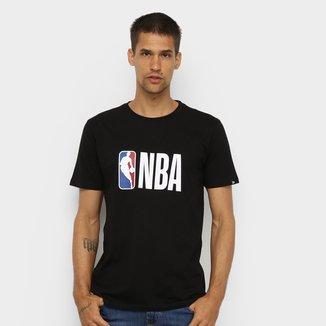 Camiseta NBA Basica Essentials Logo Masculina